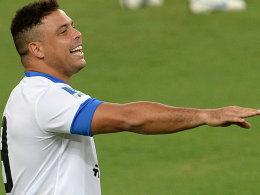 Doppeltorschütze: Ronaldo traf im Maracana gleich zweimal.