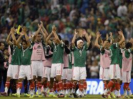 Mexiko feierte den Erfolg gegen Panama.
