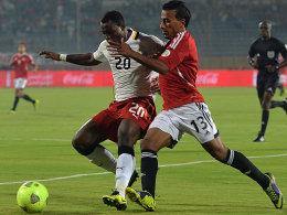 Kwadwo Asamoah und Mohamed Abdel Shafi