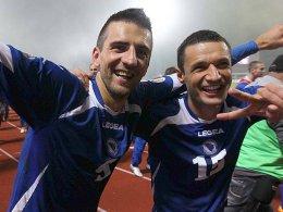 Vedad Ibisevic und Sejad Salihovic