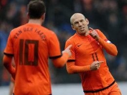 Arjen Robben ist im Oranje-Team gesetzt.