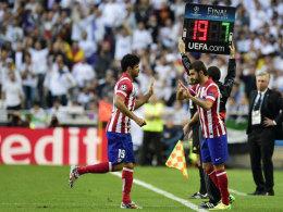 Diego Costas Oberschenkelverletzung brach im Finale von Lissabon nach nur neun Minuten wieder auf.