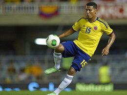 Laboriert an mehreren Verletzung und kann nicht zur WM: Kolumbiens Edwin Valencia.