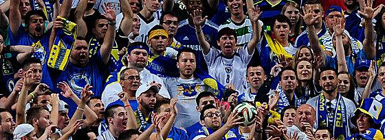 Bosnien ist zum ersten Mal bei einer WM dabei