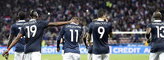 Frankreichs Fußballer