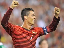 Rechtzeitig fit für den WM-Auftakt: Portugals Superstar Cristiano Ronaldo.