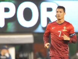 Hat die meistens Fans bei Facebook und Twitter: Portugals Superstar Cristiano Ronaldo.