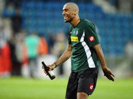 Ist beim WM-Triumph vielleicht wieder wie zu Gladbacher Zeiten seine Haare los: Der Brasilianer Dante.