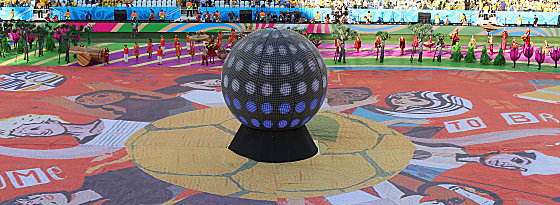 WM-Eröffnungsfeier