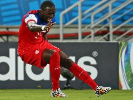 Das frühe Aus: Der US-Amerikaner Jozy Altidore schied gegen Ghana mit einer Muskelverletzung aus.