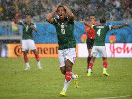 Giovani dos Santos bei Mexikos Auftaktspiel gegen Kamerun (1:0)