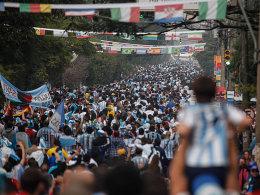 Fans aus Argentinien