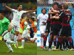 Treffen sich nach 32 Jahren bei einer WM wieder: Algerien fordert Deutschland.