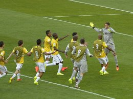 Brasiliens Keeper Julio Cesar