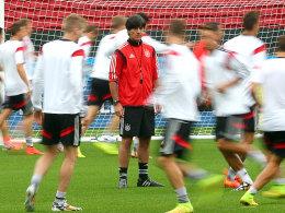Beschäftigt sich mit Algerien: Bundestrainer Joachim Löw.