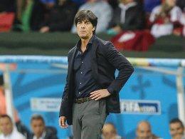 Der letzte deutsche Trainer bei der WM: Joachim Löw.