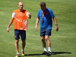 Robben und van Gaal