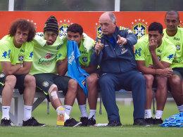 Brasiliens Coach Luiz Felipe Scolari