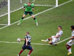 War gegen Frankreich unbezwingbar: Manuel Neuer (oben).
