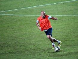 Strahlt aktuell große Spielfreude aus: Arjen Robben.