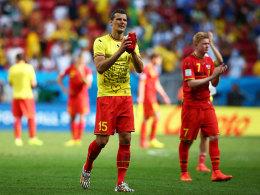 Daniel van Buyten nach dem 0:1 gegen Argentinien