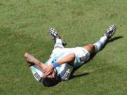 Verletzte sich gegen Belgien: Angel di Maria.
