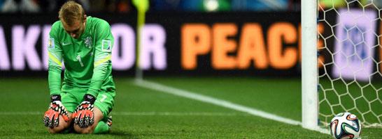 Geknickt: Oranje-Schlussmann Jaspar Cillessen machte keine sonderlich überzeugende Figur im Elfmeterschießen.