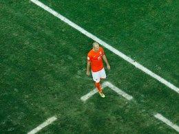 Trotz WM-Aus zufrieden mit der Leistung von Oranje: Arjen Robben.