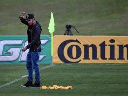 Wieder im Trainingslager der Brasilianer angekommen: Neymar.