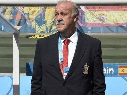 """Wird """"La Roja"""" zur EM 2016 führen: Nationalcoach Vicente del Bosque."""