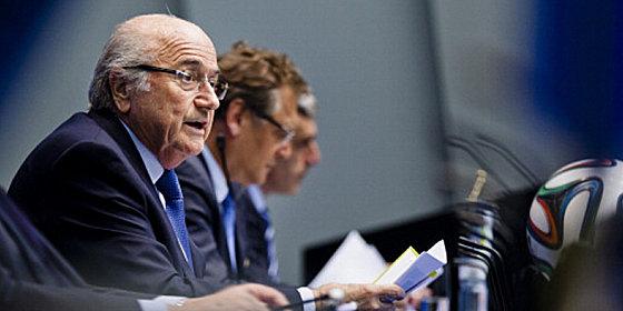 FIFA-Pr�sident Sepp Blatter