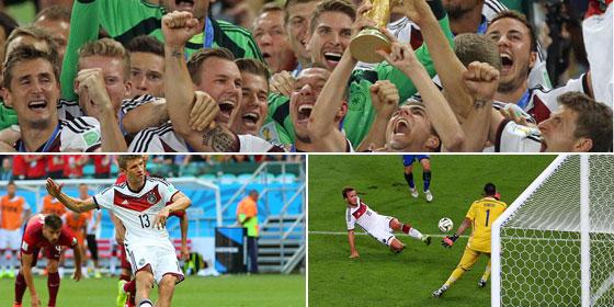 Von M�llers Elfer bis G�tzes Traumtor: Der Weg zum WM-Titel