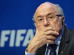 Noch FIFA-Boss Sepp Blatter