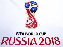 Das Logo der WM 2018 in Russland