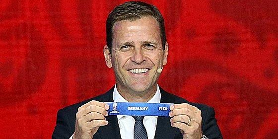 Gute Los für Deutschaland: Teammanager Oliver Bierhoff war zufrieden.