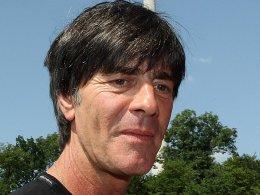 Kann mit der Auslosung zufrieden sein: Bundestrainer Joachim L�w.