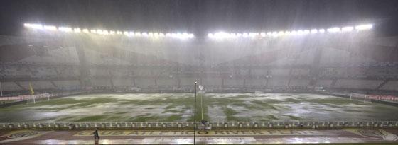 Nichts geht mehr: das Monumental-Stadion in Buenos Aires.