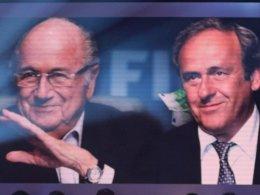 Joseph S. Blatter und Michel Platini
