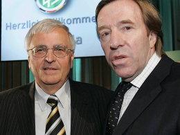 Dr. Theo Zwanziger und Günter Netzer