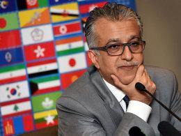 Nicht nur Asien steht hinter ihm: Scheich Salman bin Ibrahim al Chalifa will FIFA-Präsident werden.