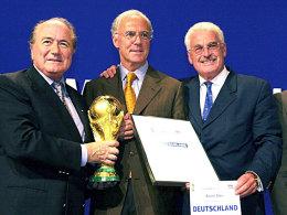 Blatter, Beckenbauer, Radmann