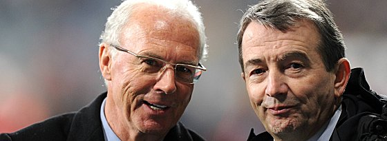 Franz Beckenbauer und Wolfgang Niersbach