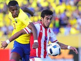 Lezcanos Doppelpack reicht Paraguay nicht