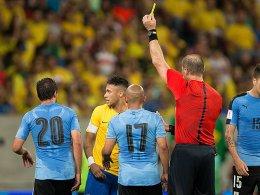 Pause: Neymar ist gegen Paraguay gesperrt.