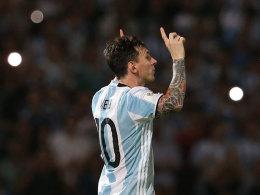 Messi erzielt sein 50. L�nderspieltor