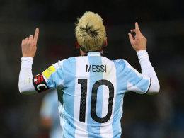 Argentinien ohne Messi gegen Venezuela