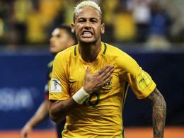 Brasilien siegt dank Neymar, Uruguay an der Spitze