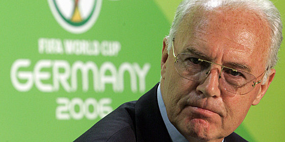"OK-Chef ""Kaiser"" Franz Beckenbauer"