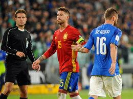 Trotz Elfer-Seuche: Pechvogel Ramos lobt Referee Brych