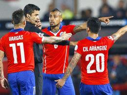 Acht Stars gelbvorbelastet: WM für Chile in Gefahr